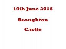 Broughton Castle 19th June 16