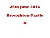 Broughton Castle II 26th June 2016