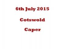 CotsWold Caper 6-7-15