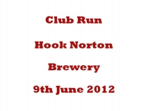 Hook Norton Brewery 2012