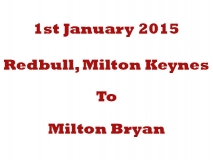 Jan 1st 2015 - Redbull to Red