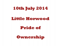 Little Horwood Pride Of Owners