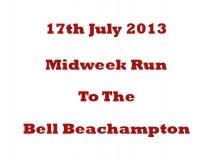 Mid Week Run 17-07-13