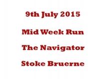 Mid Week run 09-07-15