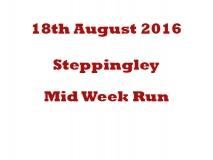 Steppingley Mid Week Run 18-08-16