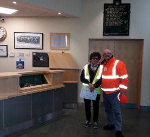 Yvonne & Chiv at BRDC